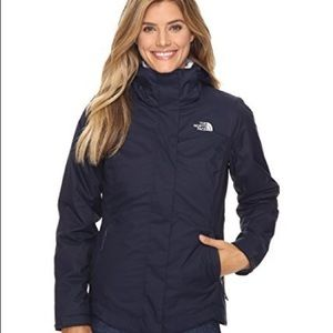 north face mossbud swirl triclimate jacket